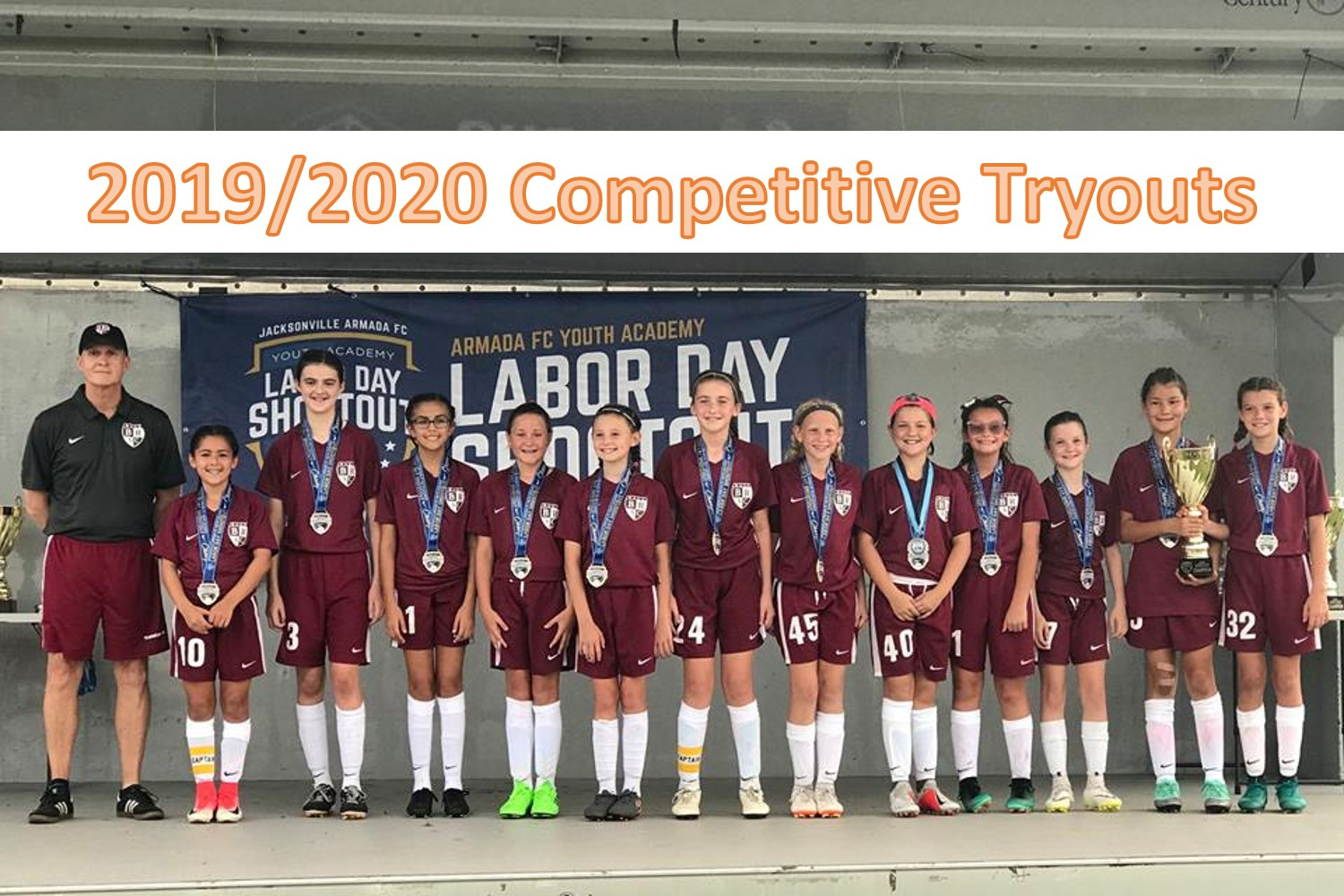 2019/2020 Competitive Soccer Tryouts Start Monday May 6