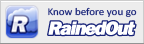 Wanna know if our fields are closed, click on the image and register for RainedOut!. It's free!